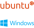 Windows and Ubuntu operating systems